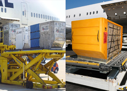 Plastic Air Cargo Containers, Plastic ULD Containers, Hybrid ULD Containers, Hybrid Air Cargo Containers